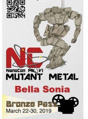 NanoCon Mk. VI – Bronze Event Pass