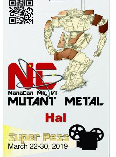 NanoCon Mk. VI – Gold Event Super Pass