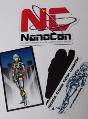 Official NanoCon Magnet Set