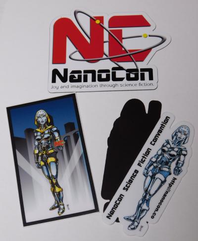 Official NanoCon Magnet Set
