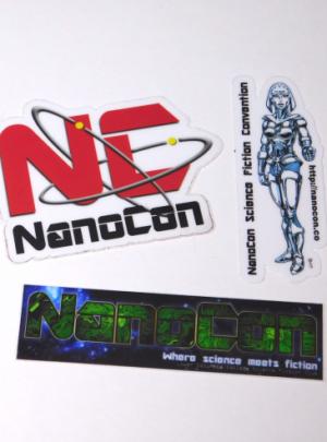 Official NanoCon Sticker Set
