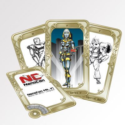 Official NanoBot Collector Cards
