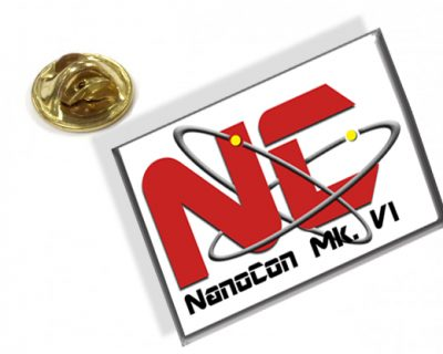 NanoCon Mk. VI Commemorative Pin